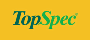 The logo of TopSpec, helping with the feeding and management of your horse.